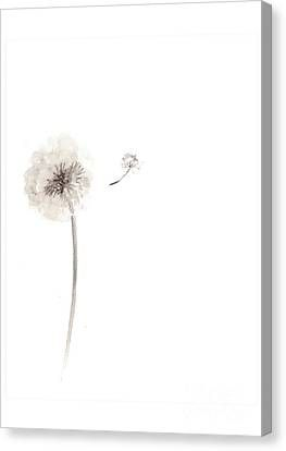 Dandelion Flower Watercolor Art Print Painting Canvas Print Canvas Art By Joanna Szmerdt In 2020 Watercolor Art Prints Dandelion Flower Art Prints