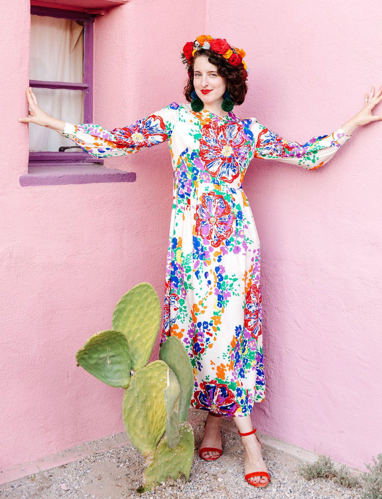 Colorful + DIY Fiesta-Inspired Desert Wedding Celebration — Part 2 ...