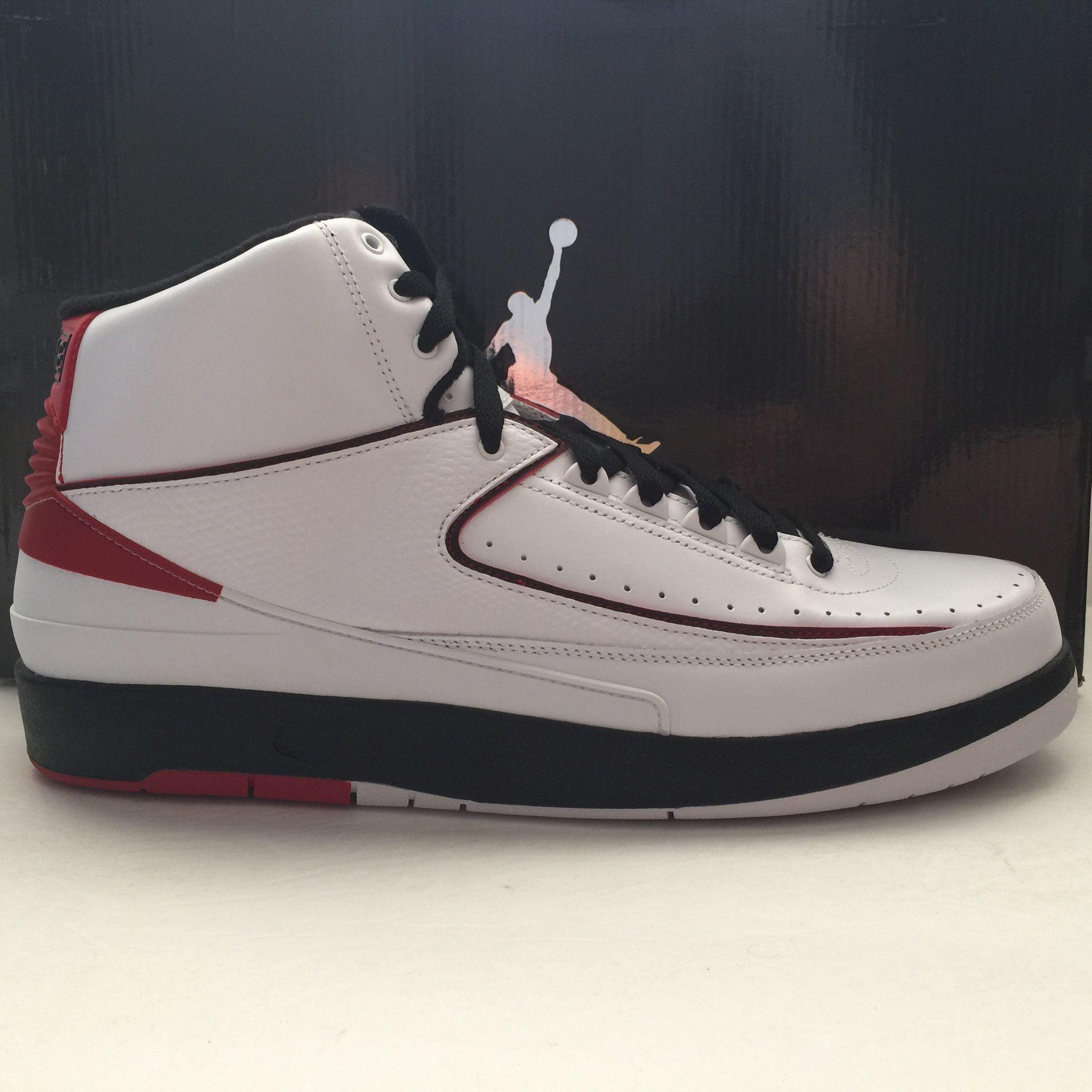 pretty nice b926b 3a602 DS Nike Air Jordan 2 II QF Chicago Bulls Size 13