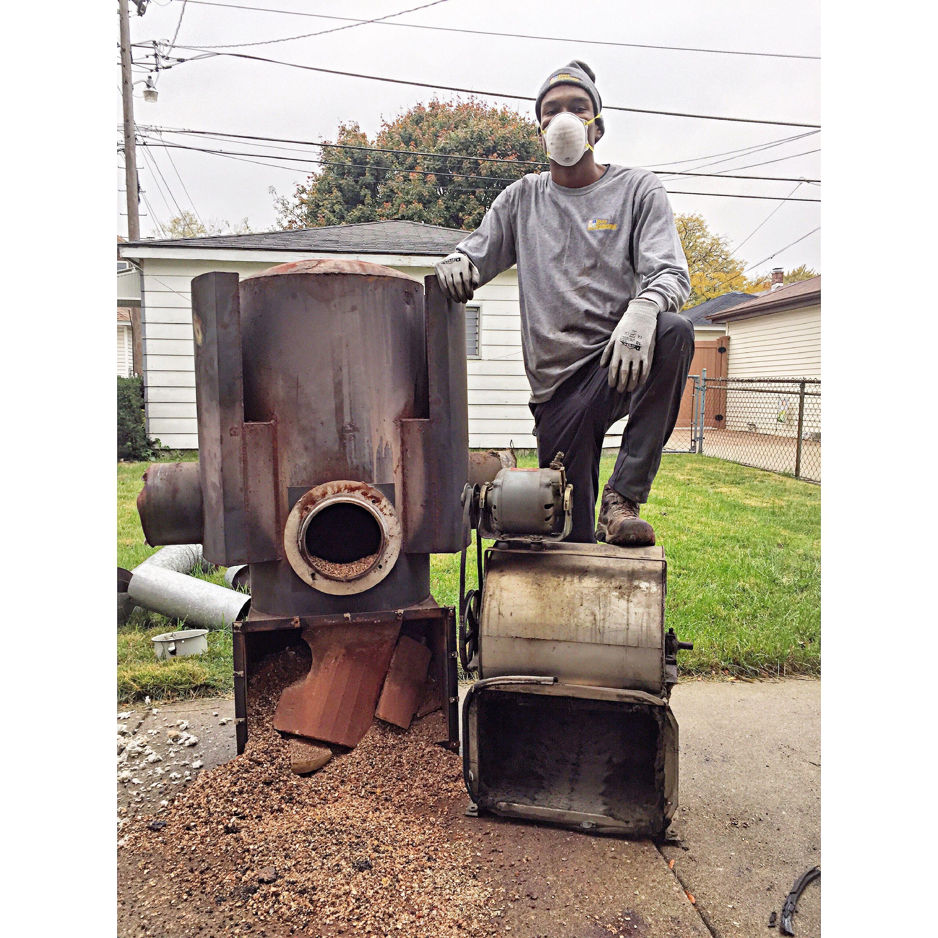 Lowboy Furnace Heat Exchanger and Blower Motor HVAClife