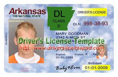 Arkansas Certificate - Drivers Licence Passport Birth License Psd Certificate Driver