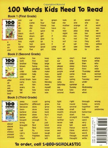 100 Words Kids Need To Read By 3rd Grade Sight Word Practice To Build Strong Readers Scholastic Teaching Reading Skills First Grade Sight Words Word Practice
