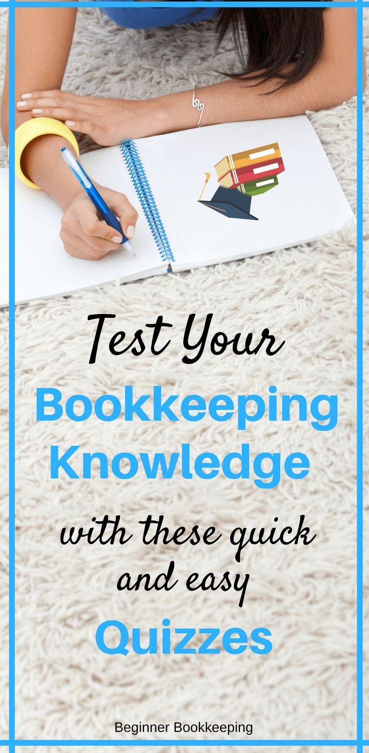 Free Bookkeeping Tests and Quizzes Bookkeeping business