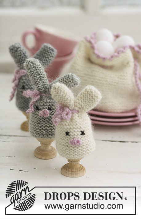 Photo of Cozy Bunnies / DROPS Extra 0-545 – Free knitting patterns by DROPS Design