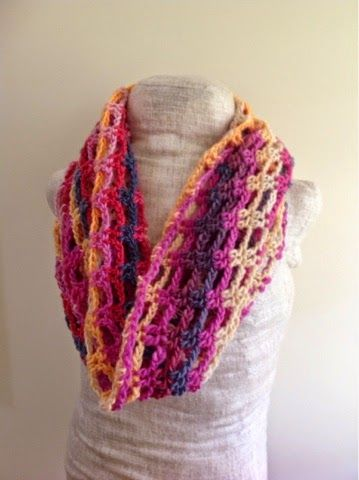 This Scarf Is Super Easy To Whip Up And I Think It Looks Great With