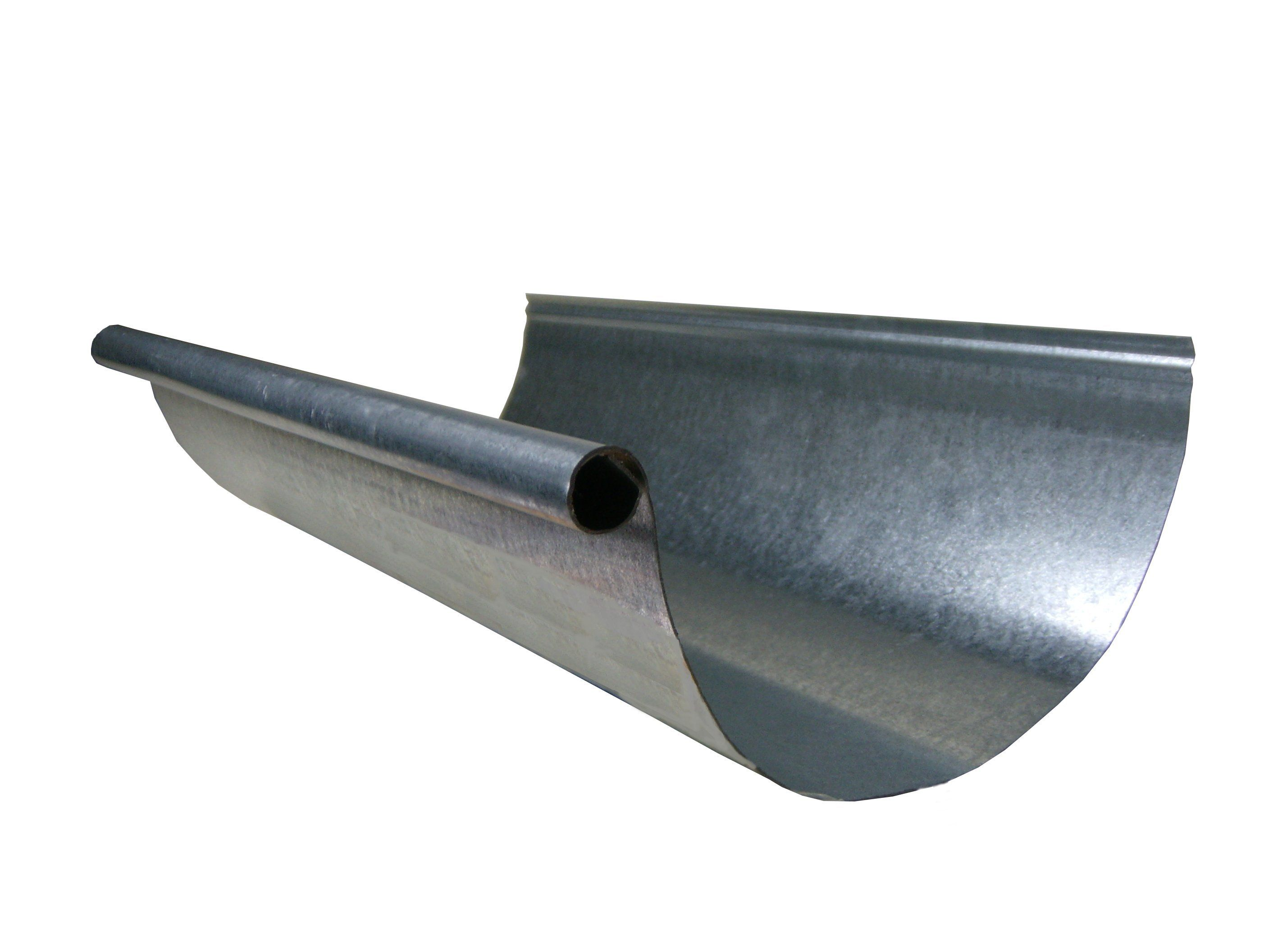 Of Hangers Or Spikes That Are Used For K Style Gutters Half Round Gutters Require Shanks Attached To The Eaves In Galvanized Gutters Gutters Rain Gutters