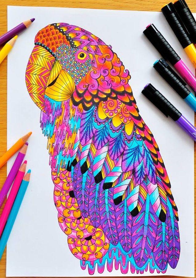 Картинки по запросу раскраска антистресс животные ...