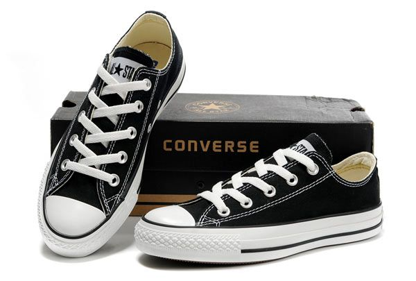 Converse Low tops: Black | Converse, Sneakers
