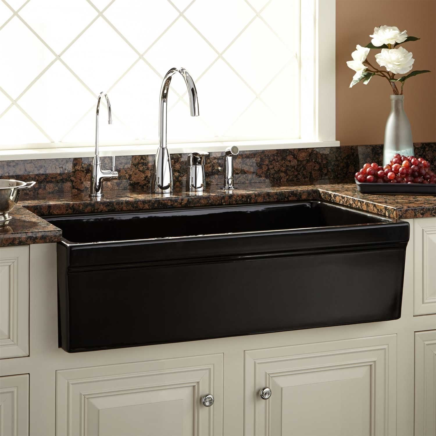 Kitchen Copper Farmhouse Brown Undermount Soapstone Sink