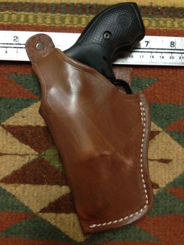Details about LT CUSTOM MAHOGANY OWB Leather Gun Holster YOU