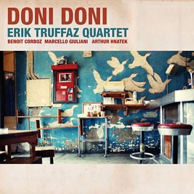 I just used Shazam to discover Le Complément Du Verbe by Erik Truffaz Quartet. http://shz.am/t288037266