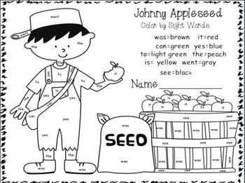 Apples And Johnny Appleseed Research Johnny Appleseed Activities