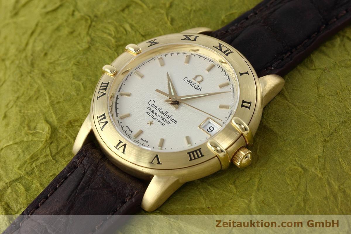 OMEGA 18K GOLD CONSTELLATION CHRONOMETER AUTOMATIK DATUM | 152764