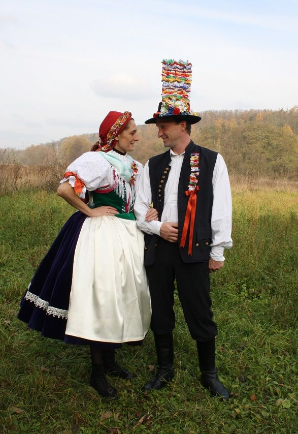Folklor Brněnska - Fotoalbum - kroj z Brna-Komína