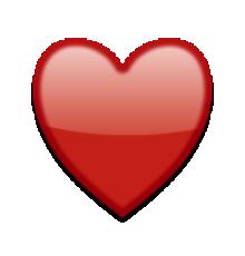 Costume Noir De Coeur Emoticone Emoji Autocollant