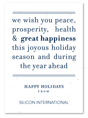 Peace message plantable holiday business cards pinterest plantable corporate holiday cards on seeded paper peace message by green business print send your message of peace use these words or customize it with m4hsunfo