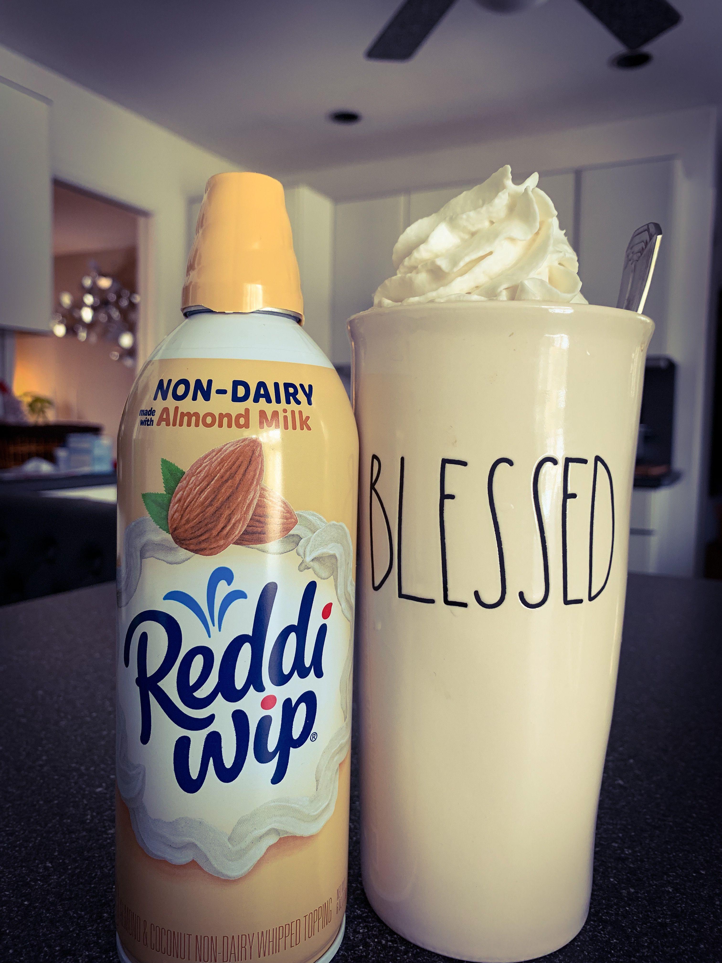 Reddi Whip Almond Whipped Cream and my new #Raedunn mug ...