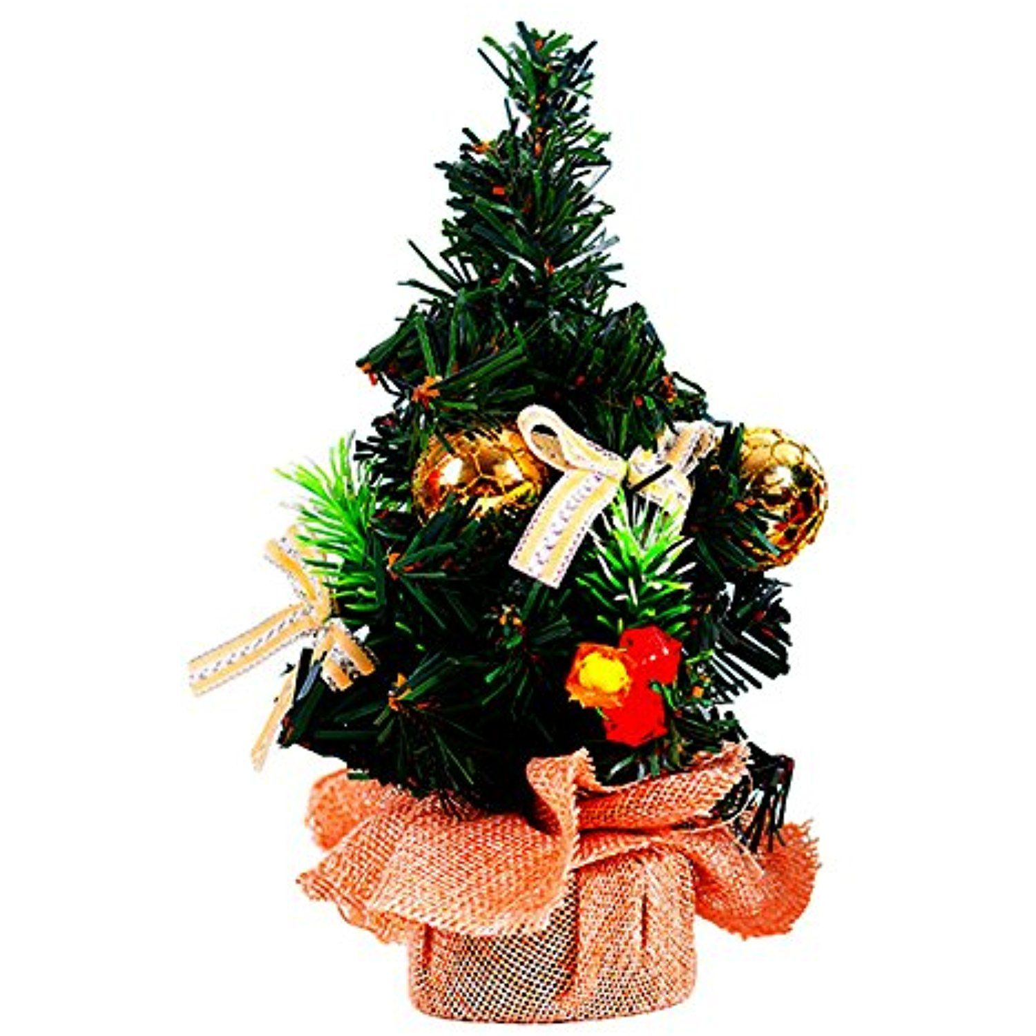 Floralby Tabletop Mini Christmas Tree Home Decor Centerpiece Holiday