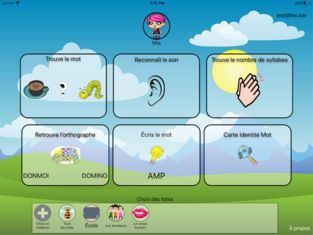 ‎French Phonology on the App Store Word games for kids