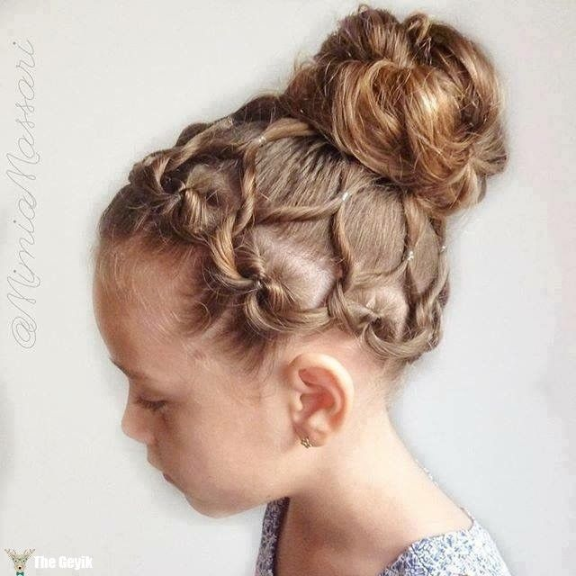 20+ Fancy Little Girl Braids Hairstyle #girlhairstyles