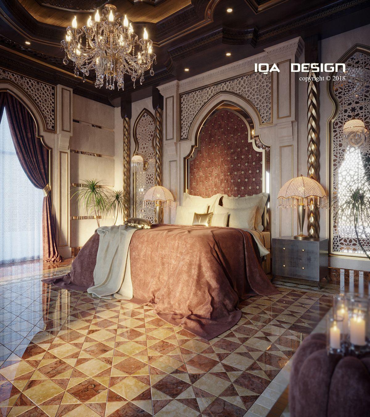 Luxury Master Bedroom Dubai On Behance: Master BEDROOM On Behance (With Images)