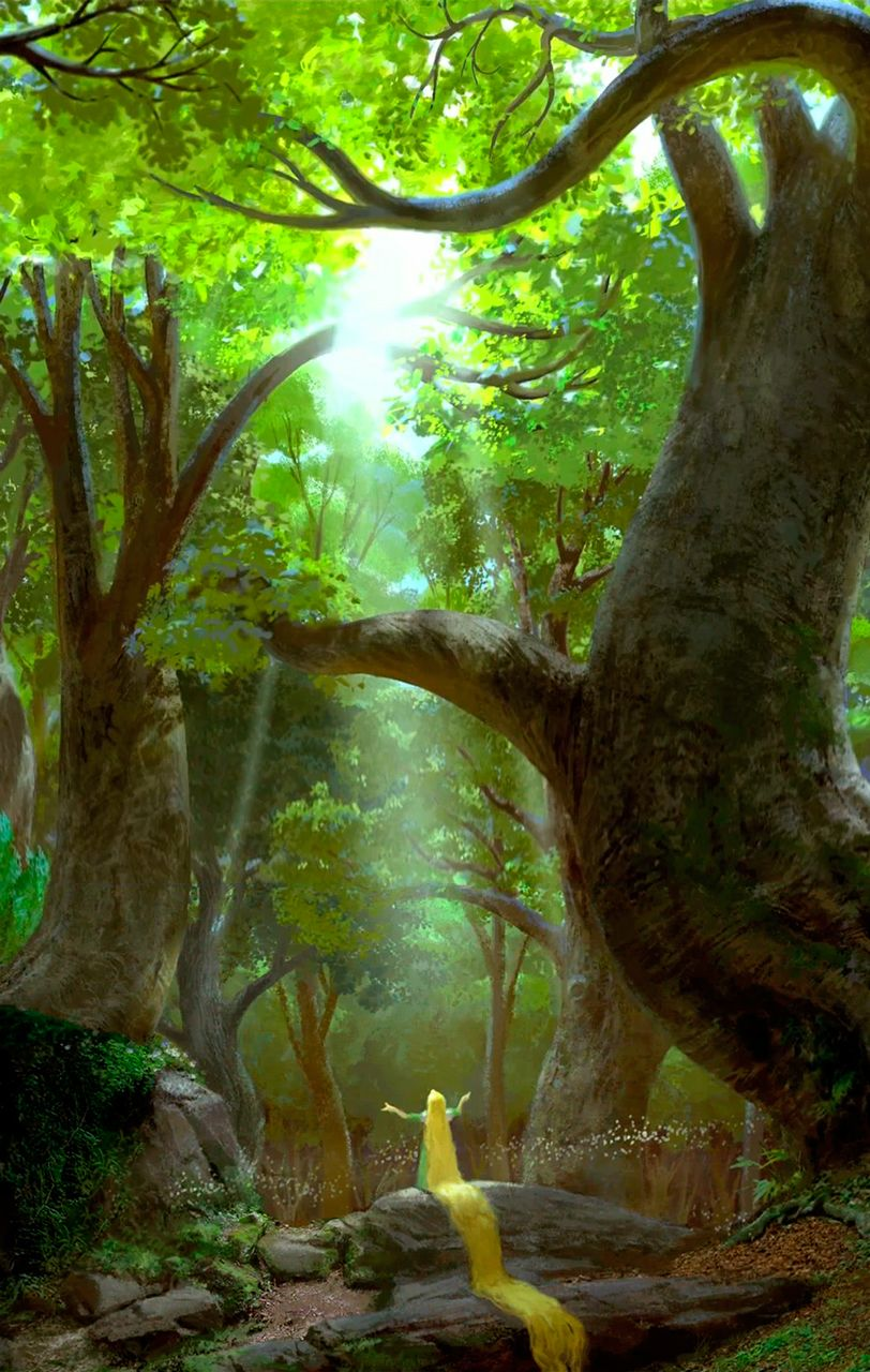 Druids Trees: Tangled Concept Art. #Trees.