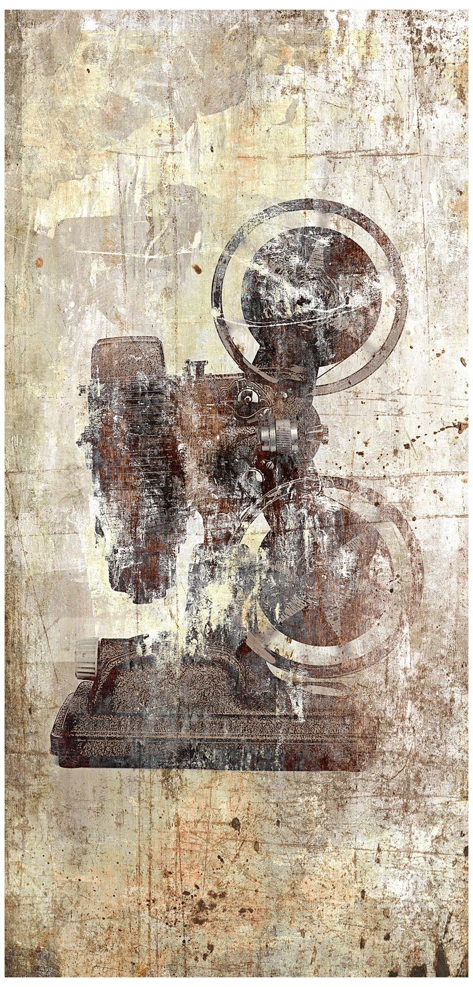 "Action III 33"" High Giclee Wall Art -"