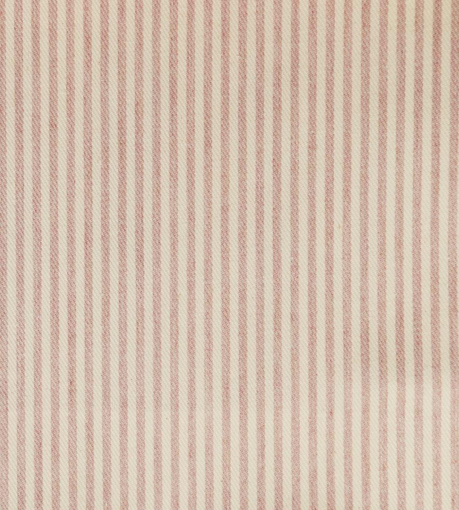 Candy Stripe Fabric by Ian Mankin in 2020 Pink fabric
