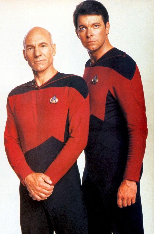 Picard And Riker Season 1 Star Trek Enterprise Star Trek Generations Star Trek Series