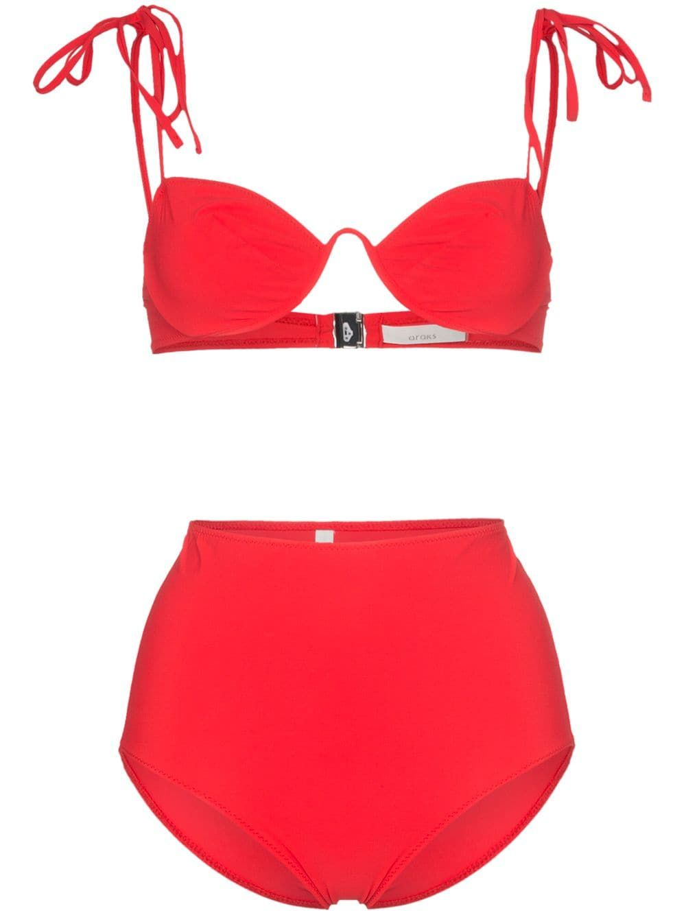 6ef89920e83 Araks Myriam Mallory high-waisted underwired bikini set in 2019 ...
