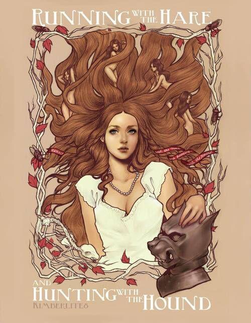 Running With The Hare And Hunting With The Hound By Kimberlite8 Sansa Stark Fan Art Sansa Stark Art Game Of Thrones Art