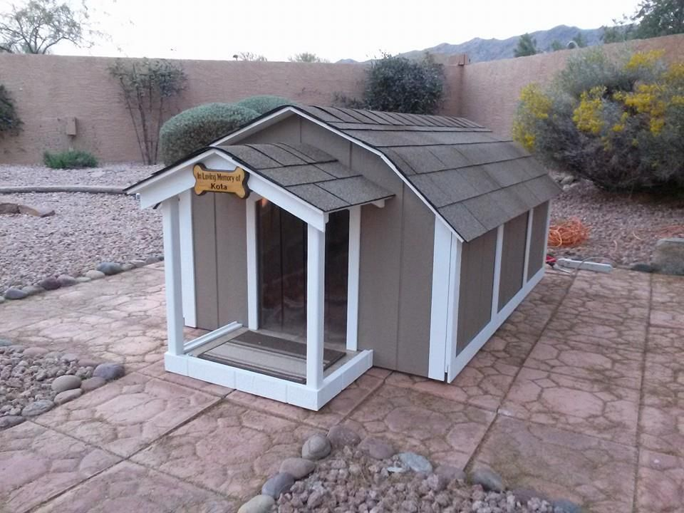 3x Large Presidential Dog House With A C Ricky Lee S Air