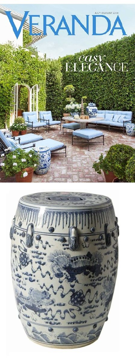 Garden Stool | Garden Stools | Ceramic Garden Stool | Modern Garden Stools  | Traditional Garden