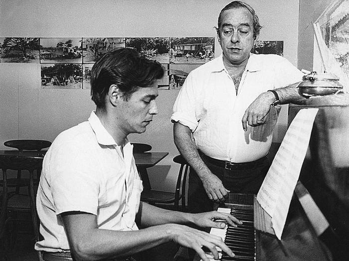 Tom Jobim Vinicius De Moraes Piano No Catetinho Musica Popular