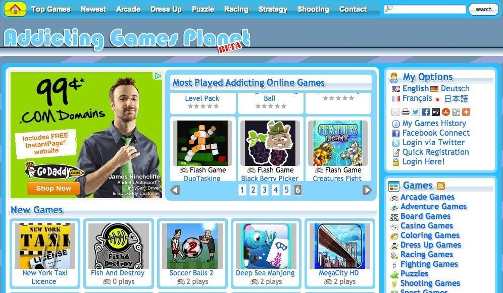 Addicting Games Planet Is The Largest Resource Of All Best Free Online Video Game Titles