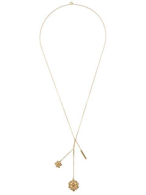 John Brevard Frame Diamond Gold Pendant uSYbr77