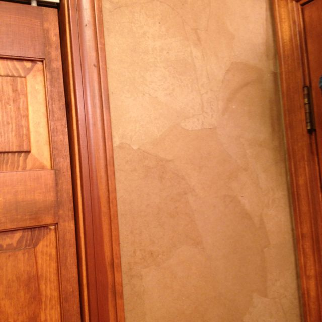 Brown Paper Bag Walls Use This Method With Lighter Colored For Da Vinci Wall