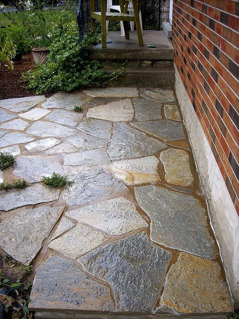 d Wet lay of Concrete walkway by healinggardens.ca, via Flickr