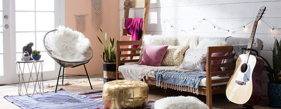 Boho Chic Furniture  Decor Ideas You\u0027ll Love Chic living room