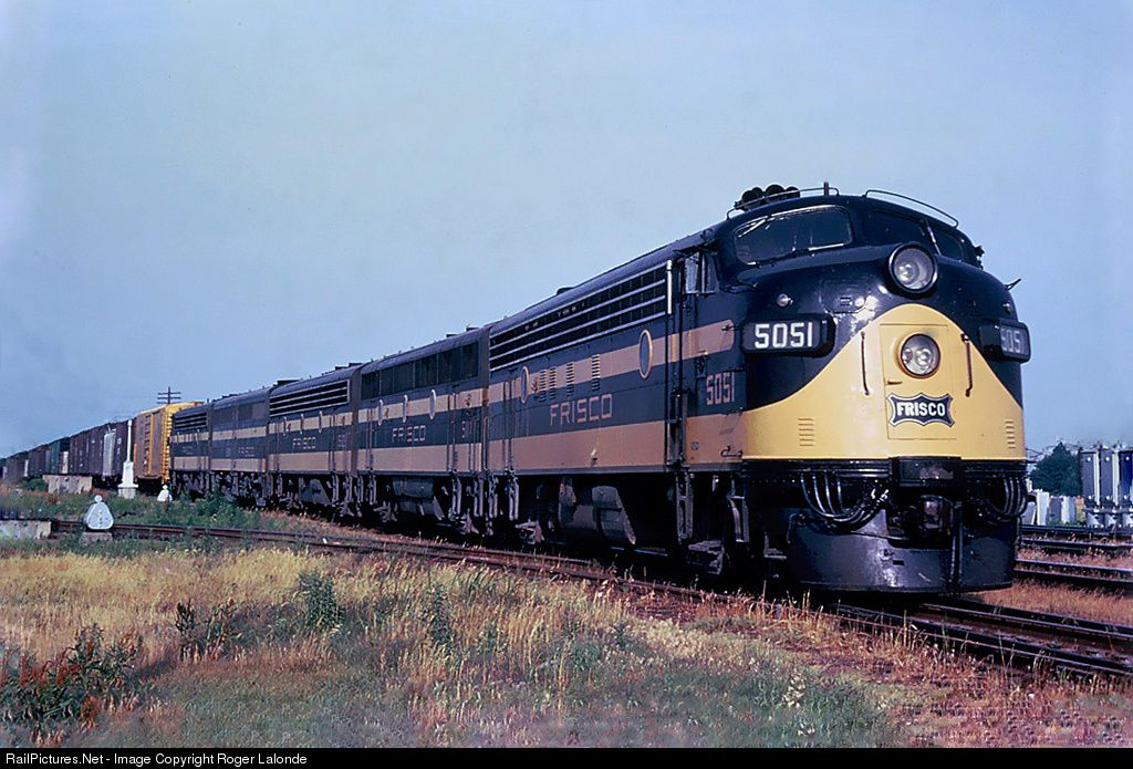 RailPictures.Net Photo: SLSF 5051 St. Louis & San Francisco Railroad (Frisco) EMD FP7 at Memphis, Tennessee by Roger Lalonde