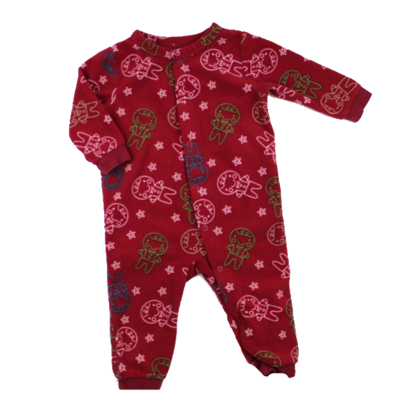 Red Gingerbread Man Footless Fleece Sleeper In Size 6 12 Months By Joe Fresh 4 Baby Clothes Online Baby Sleepers Clothes