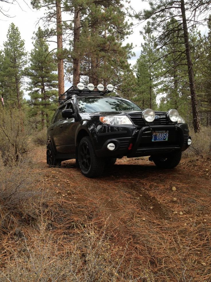 Expedition Vehicle on Off Road Subaru Legacy Outback ...
