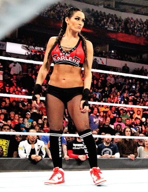 Once Again The Fearless One Proved Why She Is Fearless Nikki Bella Costume Nikki Bella Brie Bella Wwe