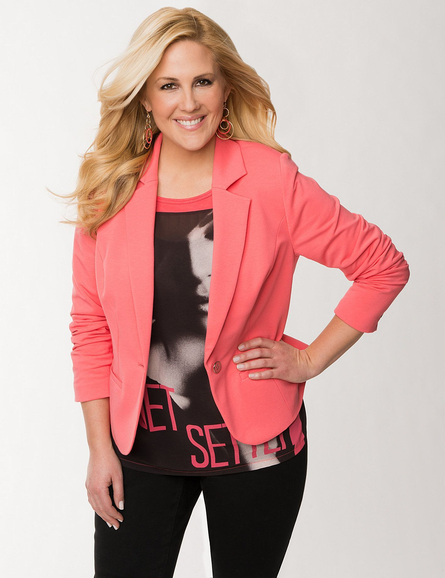 ae2da9041e6 Plus Size Blazers and Jackets for Women