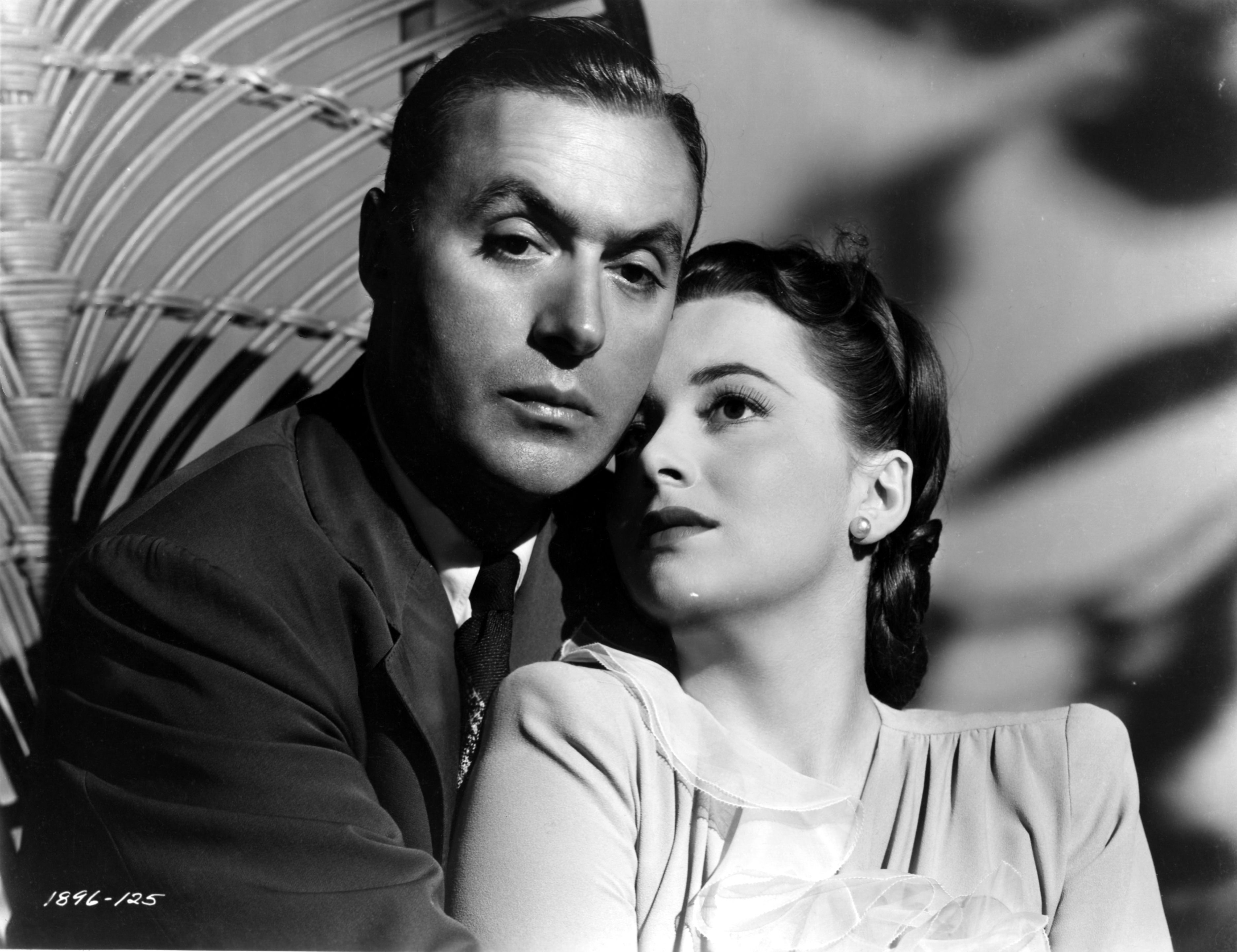Charles Boyer and Olivia de Havilland - HOLD BACK THE DAWN ...