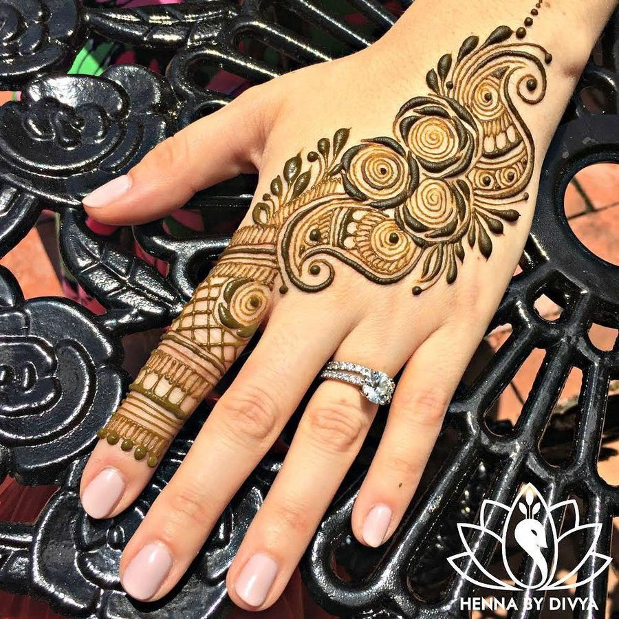 Best And Simple Arabic Mehandi Designs: 2019–2020! | by Riya Jain | Medium