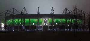 Aussenansicht Der Sudseite Des Stadions Im Borussia Park Four Square Soccer Marina Bay Sands