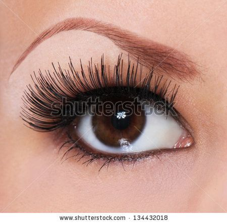 apply vaseline with your finger be4 bed.when u wakeup wash with lukewarm water.repeat this for 2-3 weeks  for a clear result apply castor oil also for amazing results   keep your eyelashes clean.avoid m,ascara. clean ur lashes daily with olive oil for stronger lashes.most of all eat healthy,drink water.follow my steps for stunning eyelashes