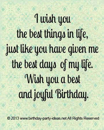 Wish You All The Best Quotes I wish you the best things in life. Joyful birthday @Brittany  Wish You All The Best Quotes