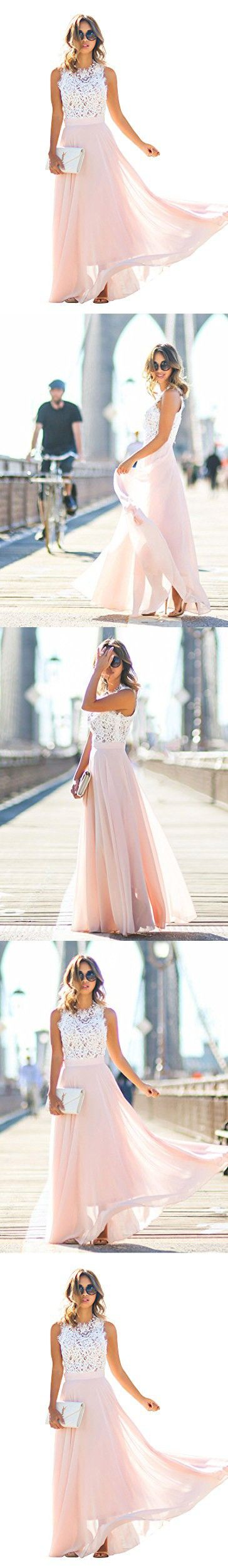 Doreen womens vintage chiffon party formal wedding prom gown maxi
